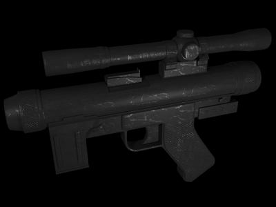SE-14 Blaster Pistol