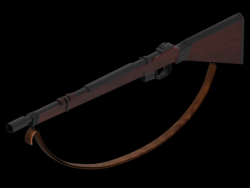 Dressellian Projectile Rifle